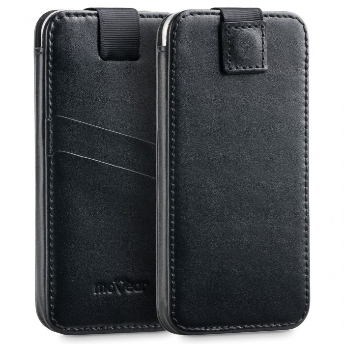universal cases - movear pocketcase c+ m smooth leather black - 1 - krytaren.sk