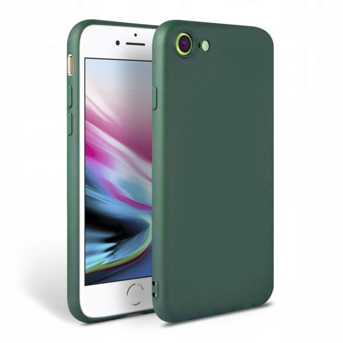 iphone se 2020 - tech-protect icon apple iphone se 2020/8/7 green - 1 - krytaren.sk