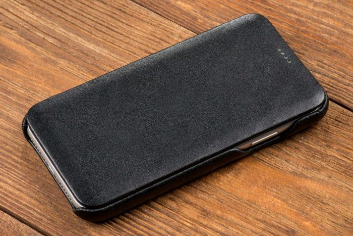 iphone 11 pro max - movear flipside s apple iphone 11 pro max smooth leather black - 5 - krytaren.sk