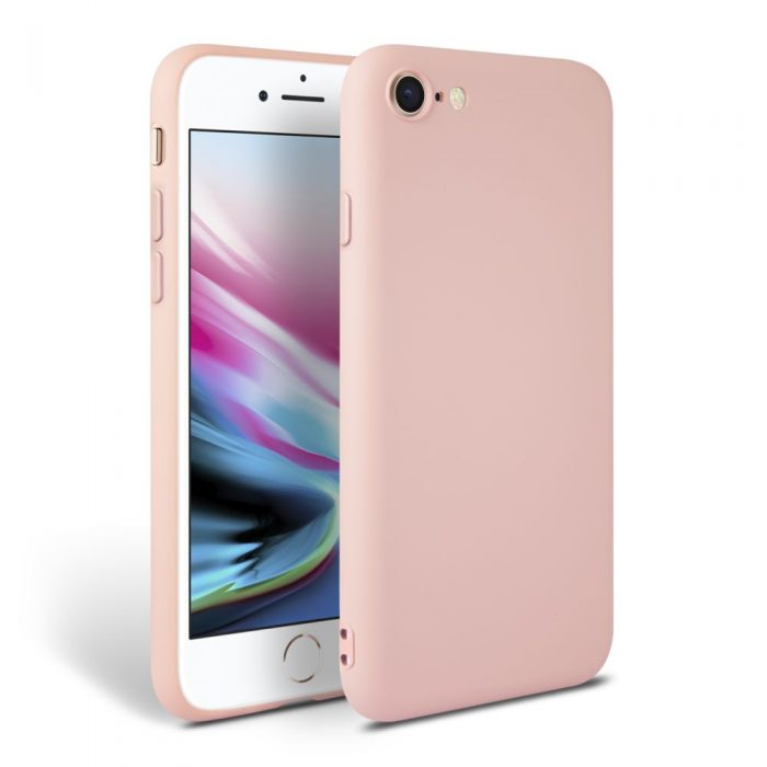 iphone se 2020 - tech-protect icon apple iphone se 2020/8/7 pink - 1 - krytaren.sk