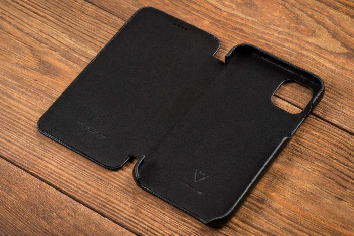 iphone 11 pro max - movear flipside s apple iphone 11 pro max smooth leather black - 7 - krytaren.sk