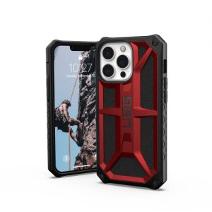 iPhone 13 Pro Max - UAG Urban Armor Gear Monarch Apple iPhone 13 Pro Max (red) - 1 - krytaren.sk