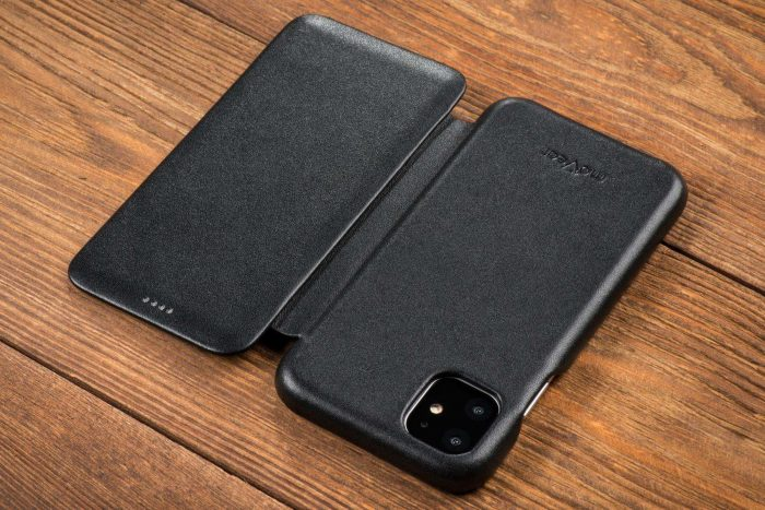 iphone 11 pro max - movear flipside s apple iphone 11 pro max smooth leather black - 9 - krytaren.sk