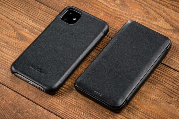 iphone 11 pro max - movear flipside s apple iphone 11 pro max smooth leather black - 10 - krytaren.sk