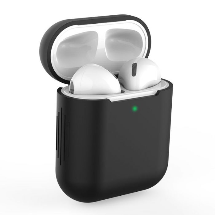 airpods - tech-protect icon apple airpods black - 1 - krytaren.sk