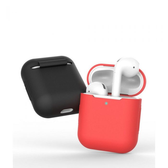 airpods - tech-protect icon apple airpods black - 4 - krytaren.sk