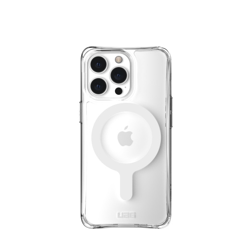iphone 13 pro max - uag urban armor gear plyo apple iphone 13 pro max magsafe (clear) - 2 - krytaren.sk