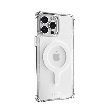 iphone 13 pro max - uag urban armor gear plyo apple iphone 13 pro max magsafe (clear) - 3 - krytaren.sk