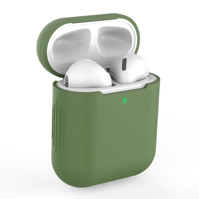 airpods - tech-protect icon apple airpods green - 1 - krytaren.sk
