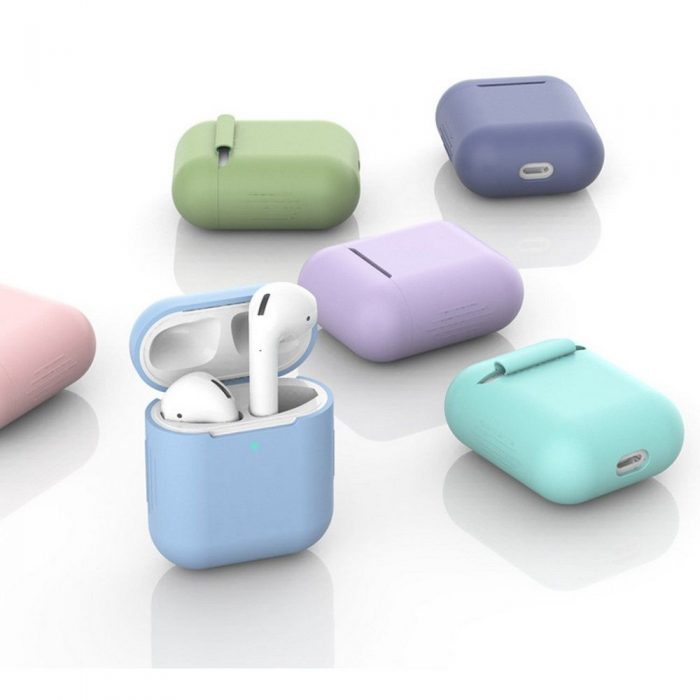 airpods - tech-protect icon apple airpods green - 6 - krytaren.sk