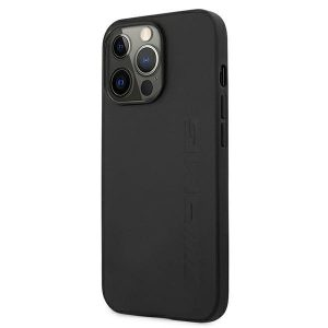 iPhone 13 Pro Max - Mercedes AMG AMHCP13XDOLBK Apple iPhone 13 Pro Max black hardcase Leather Hot Stamped - 2 - krytaren.sk