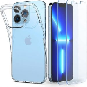 iPhone 13 Pro Max - Spigen Crystal Pack Apple iPhone 13 Pro Max Crystal Clear - 1 - krytaren.sk