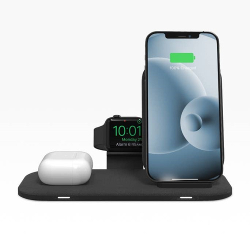 wireless chargers - mophie universal wireless charging stand+ with apple watch holder - 1 - krytaren.sk